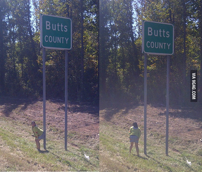 Butts County in Georgia, USA.