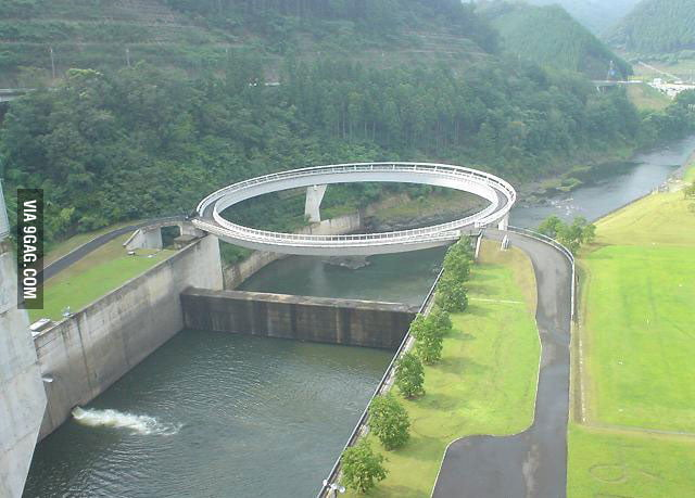 Awesome Roundabout Bridge