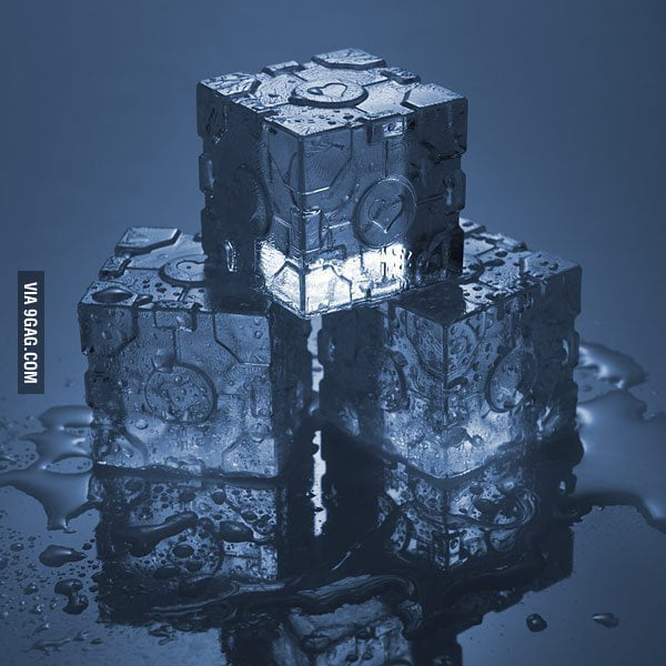 Portal Ice Cube