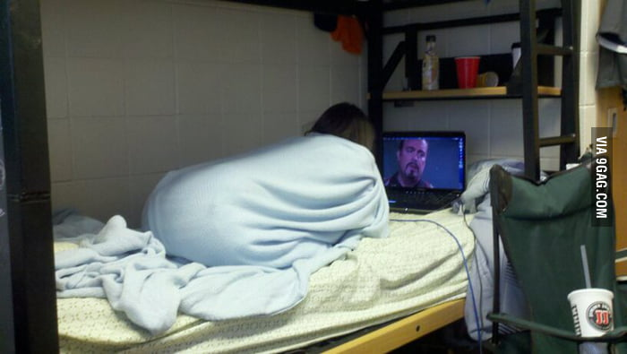 My friend turns into a sheep when she watches Dexter