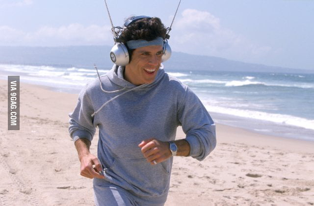 What I see when people work out with Beats by Dre headphone.