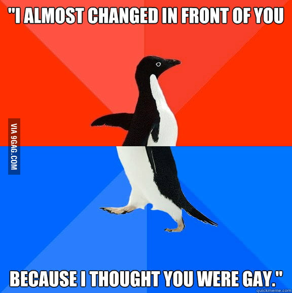 A female friend said this to me