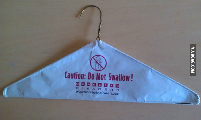 Caution: Do Not Swallow!