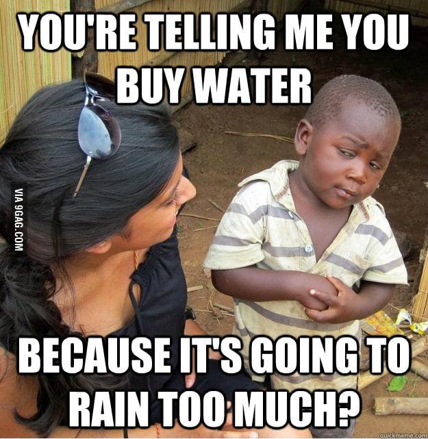 Skeptical Third World Kid on Hurricane Sandy