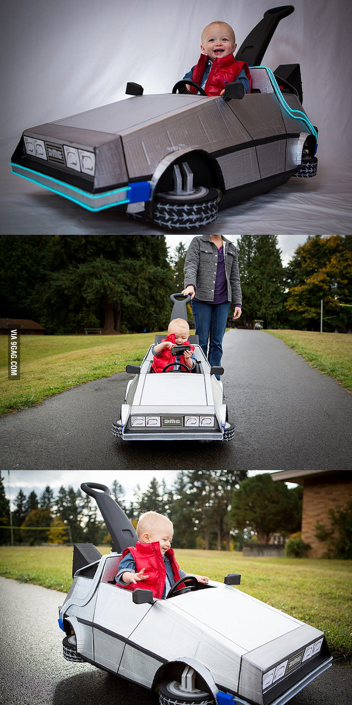 awesome baby�s marty mcfly costume 9gag