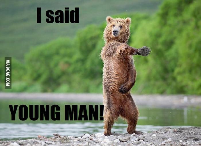 YMCA Bear!