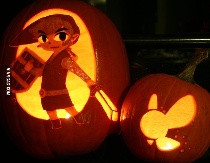 Link Jack-O'-Lantern