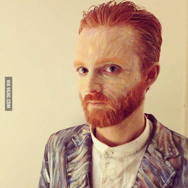 Van Gogh for Halloween!