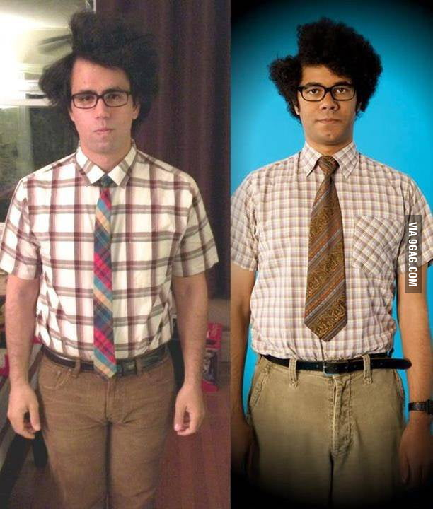 Moss costume from the IT crowd