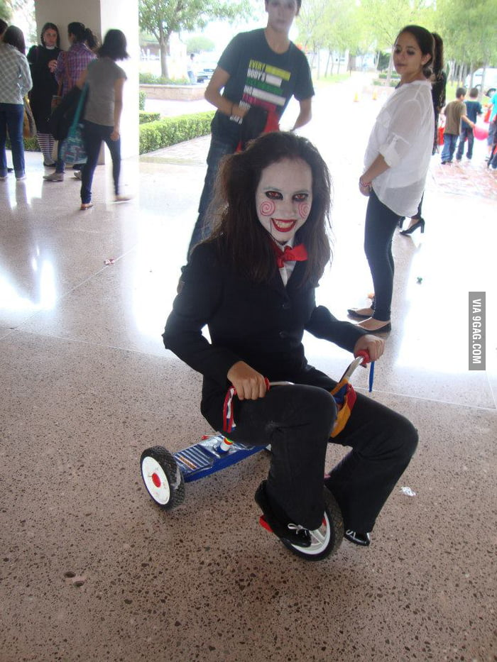 Awesome costume in my school!