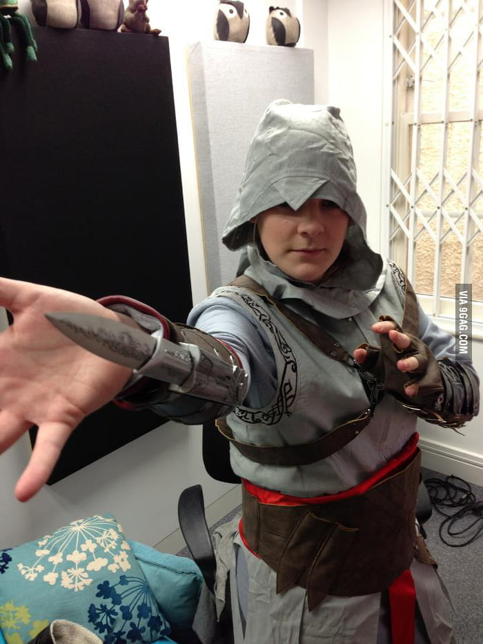 Epic Cosplay by Hannah of the Yogscast - 9GAG