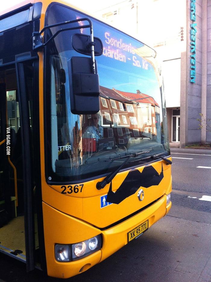 """""""Bustaches"""" in Denmark."""