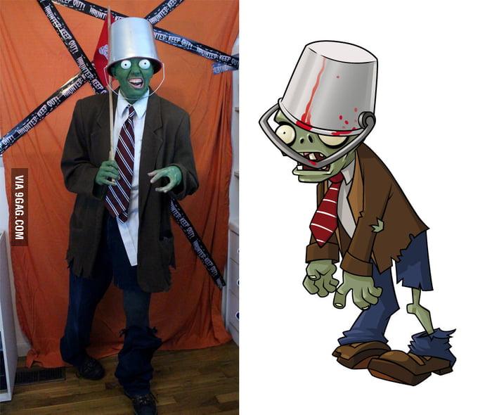 Bucket Head Zombie