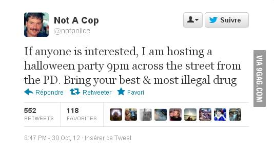Not A Cop