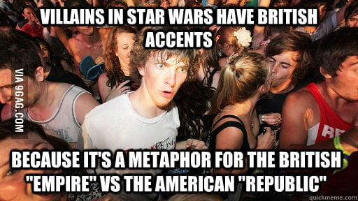 I re-watched Star Wars and I just realized this.