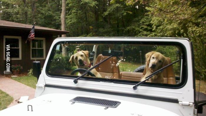 Hey girl, wanna go for a ride?