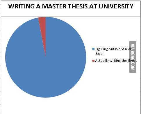 Master thesis professor