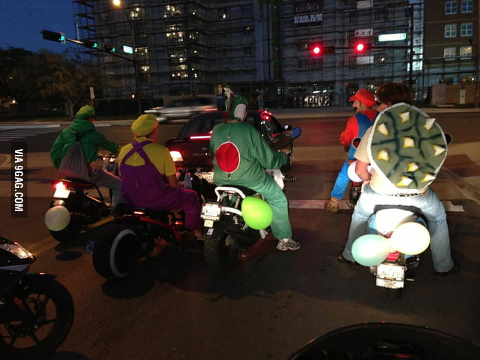 Mario Kart (Bike) Live!