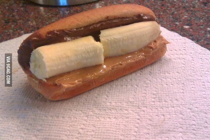 Vegetarian Hot Dog!