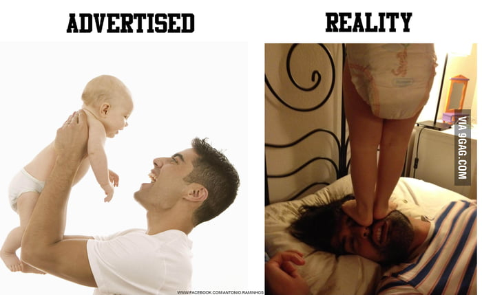 Advertised And Reality