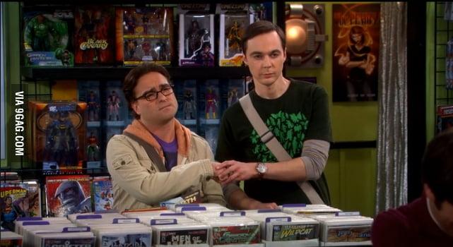 Oooh Sheldon...