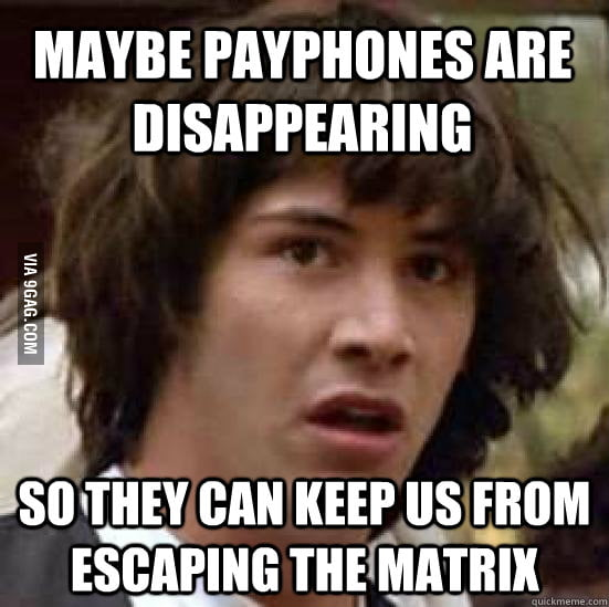 The real reason payphones are disappearing.