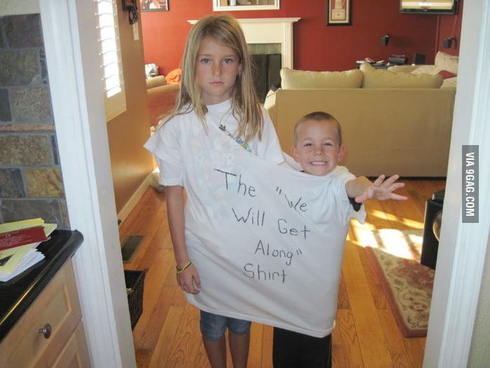 """The """"We Will Get Along"""" Shirt"""