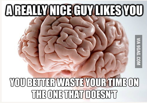 Just f**k you brain