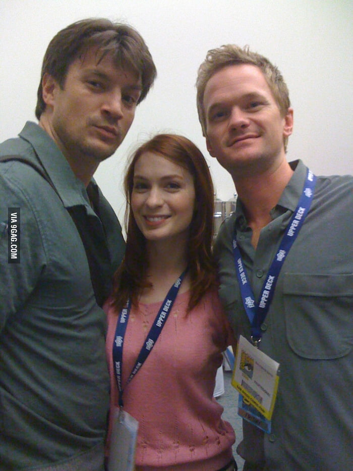 Nathan Fillion, Felicia Day and Neil Patrick Harris
