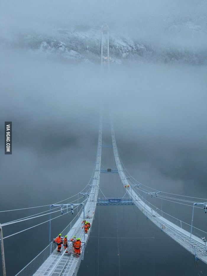 Norway Sky Bridge