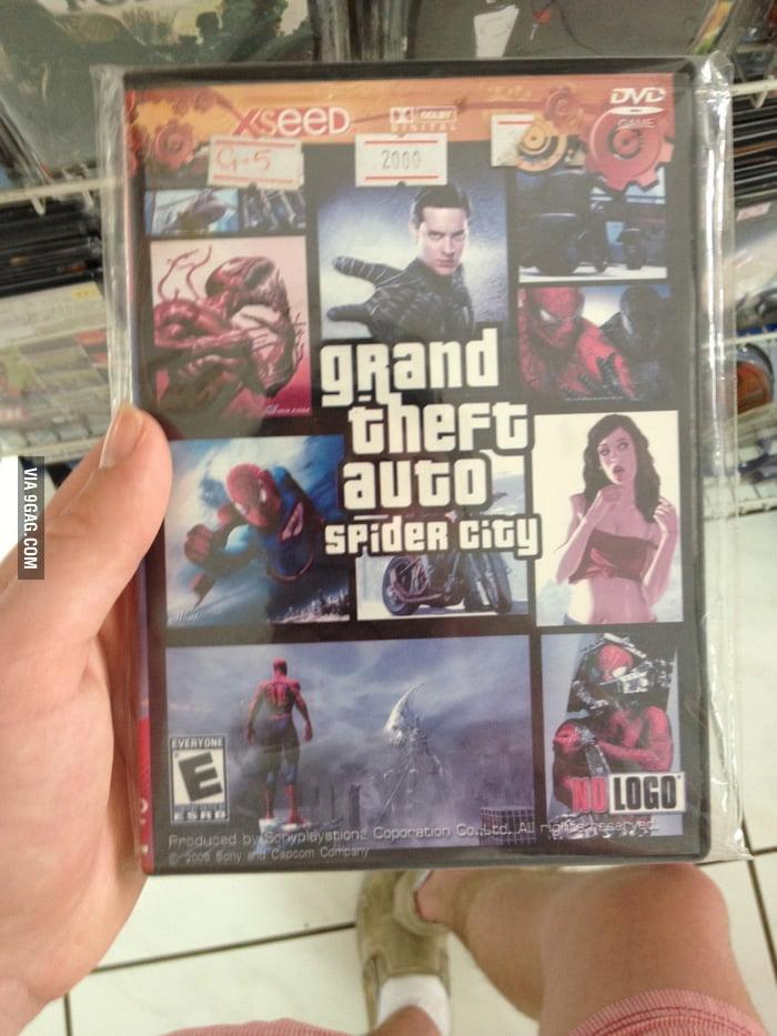 Grand Theft Auto: Spider City