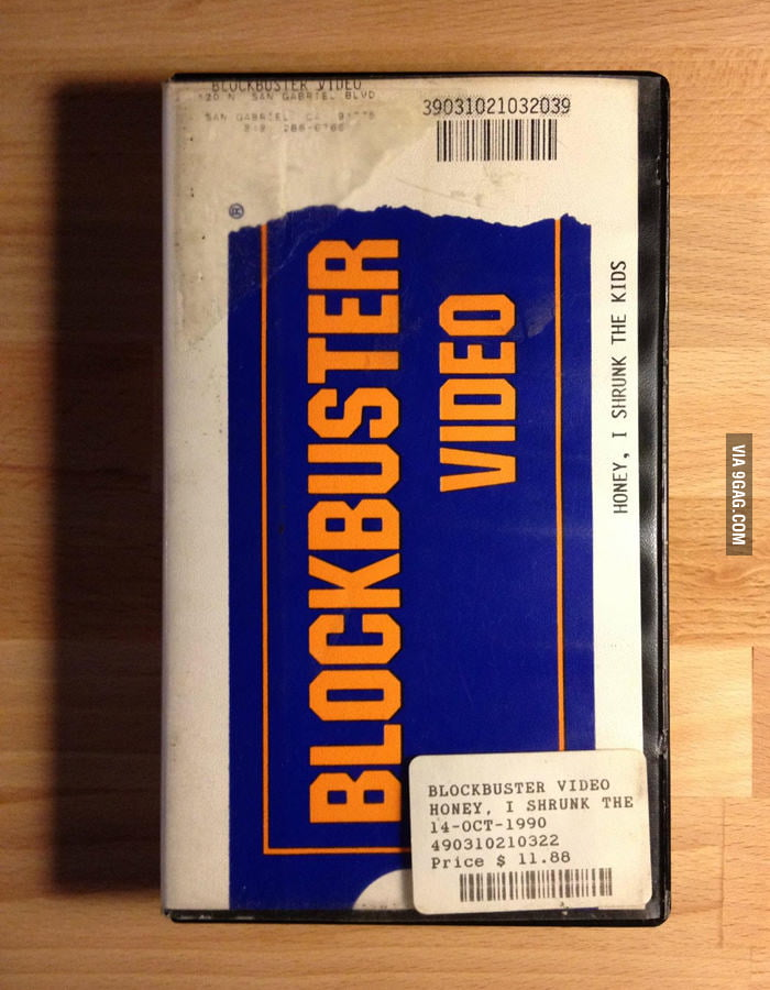 Found this Blockbuster Video. Gonna pay a large late fee!