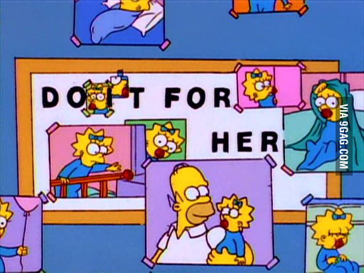 Probably the most touching Simpsons moment.