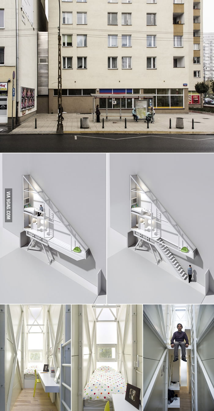 The World's Narrowest House: The Keret House in Warsaw