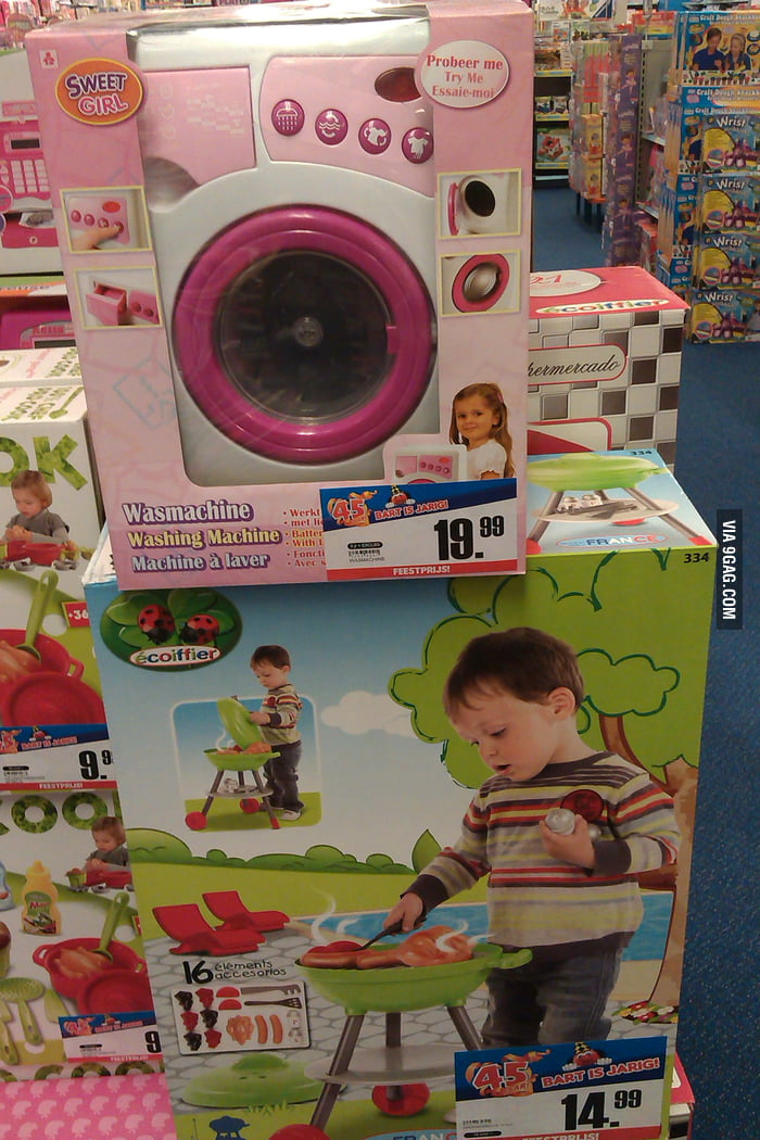 Sexism, toys are doing it wrong