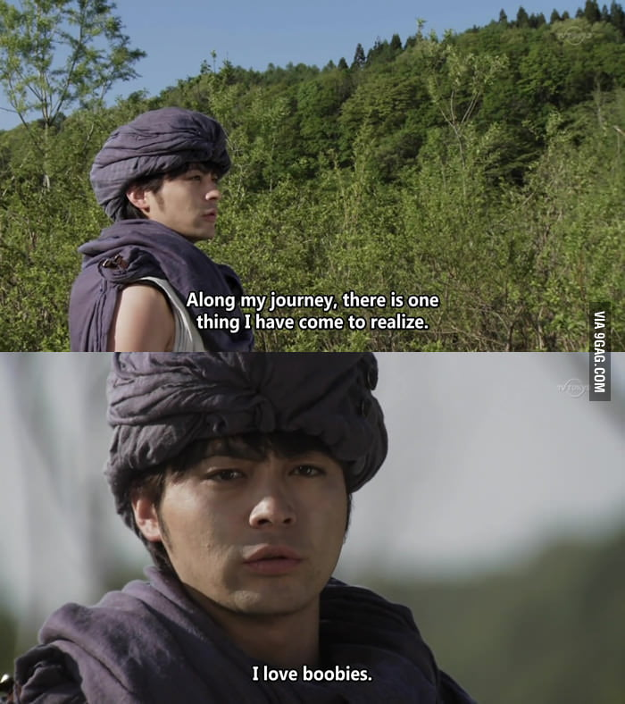 Hero Yoshihiko has come to realize one thing.
