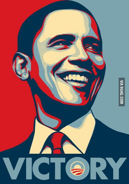 President Barack Obama Wins Re-Election.