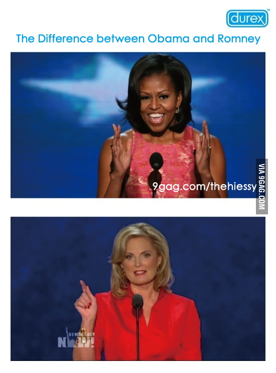 Durex: The difference between Obama and Romney