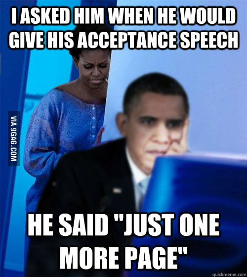 Why it took so long for Obama to give his victory speech.