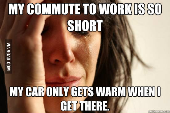 Short commute issues.