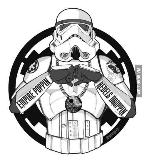 I didn't chose the imperial life. The imperial life chose me