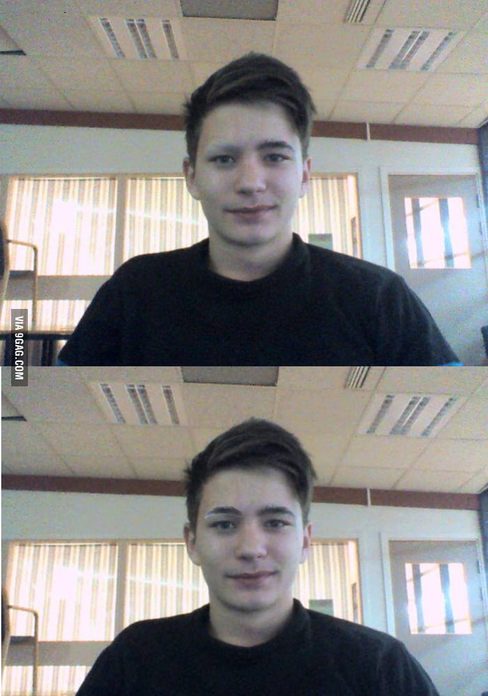 So, I removed 1 eyebrow and look like sh*t...