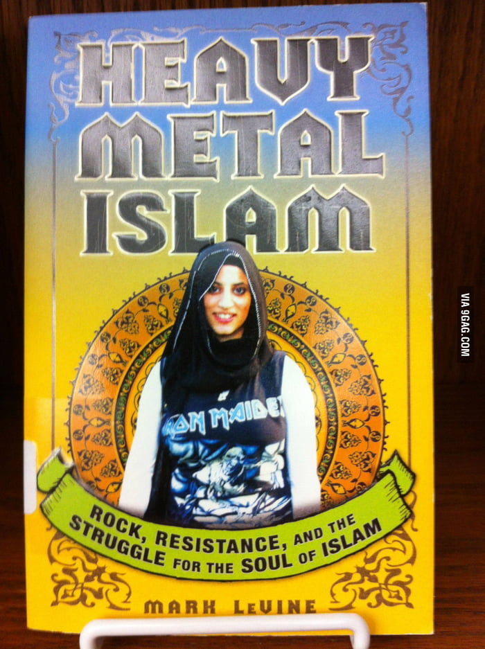 Found a weird book in my school library : Heavy Metal Islam