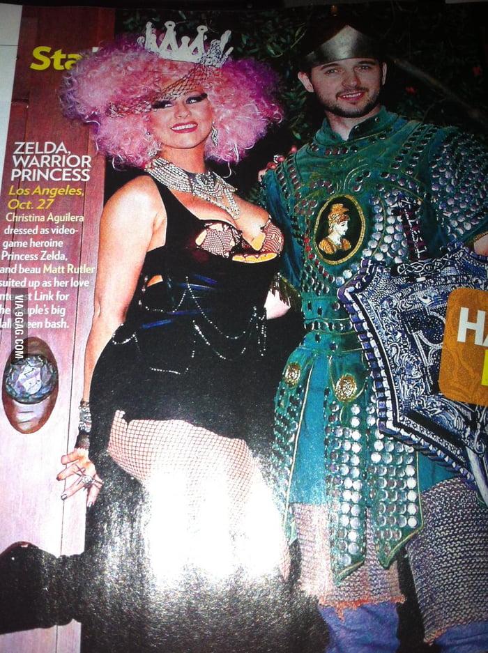 Christina Aguilera's Princess Zelda is ugly.