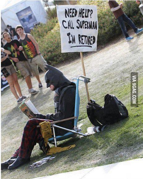 Superheroes also retire