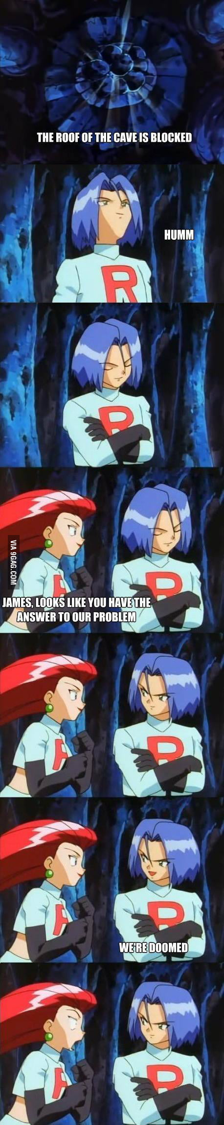 James trolling Jessie