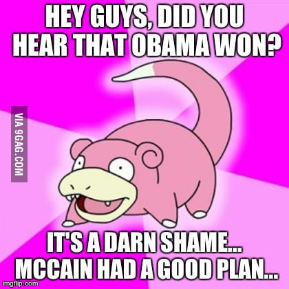 Darn it, slowpoke!
