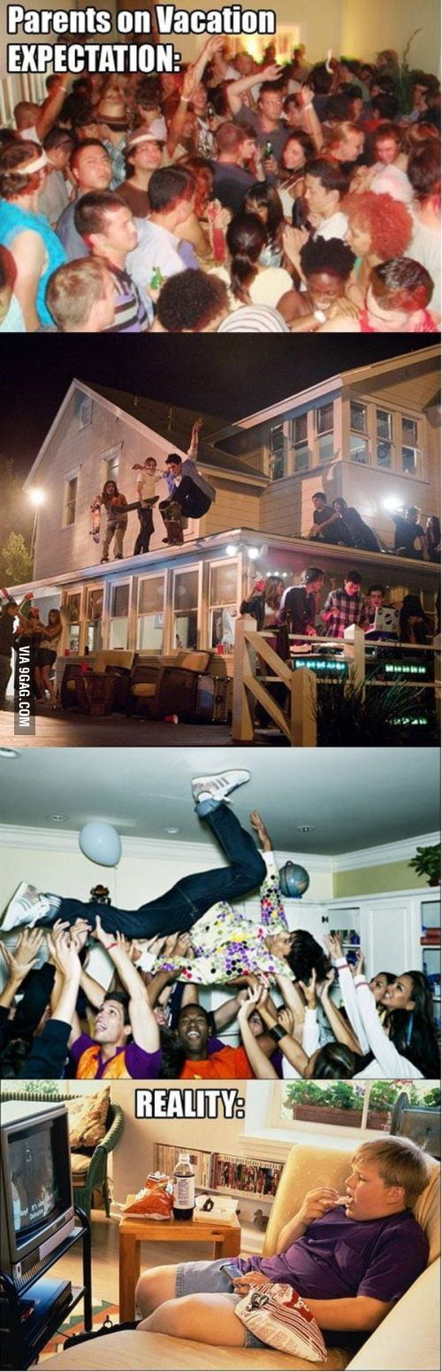 Next time you party