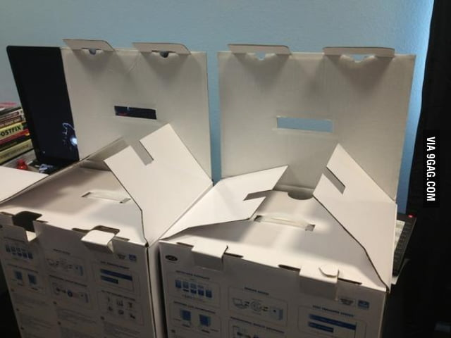 Evil plotting boxes will get you!