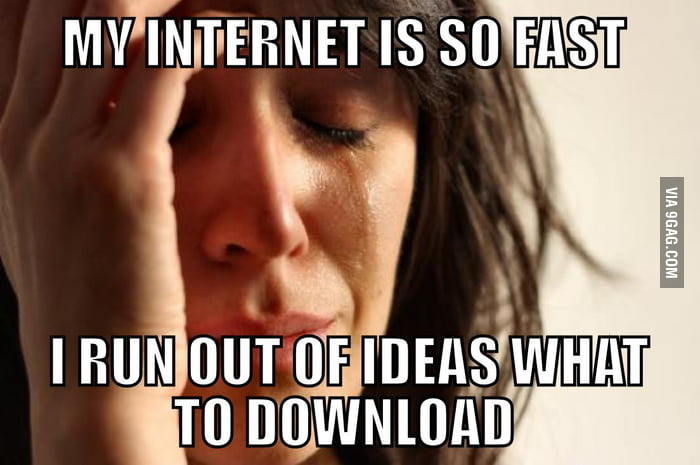 A Severe First World Problem